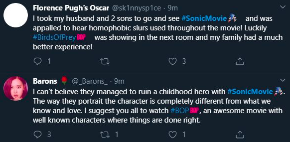 Aves de Rapina vs. Sonic - O Filme